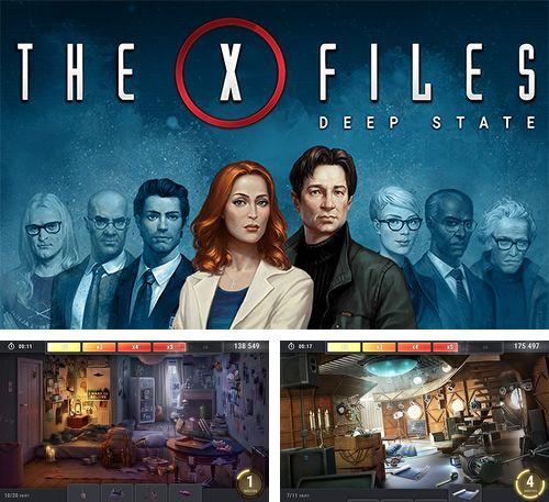 除了 iPhone、iPad 或 iPod 游戏,您还可以免费下载The X-files: Deep state, 。