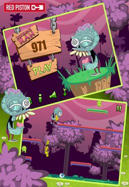Descarga gratuita de The Zombie Dash para iPhone, iPad y iPod.