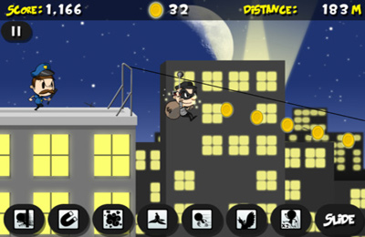 Screenshots of the Thief Job game for iPhone, iPad or iPod.