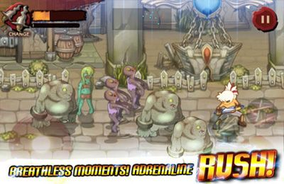 Screenshots of the Third Blade game for iPhone, iPad or iPod.