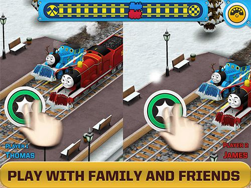 Download Thomas and friends: Race on! iPhone free game.