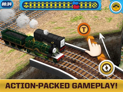 Free Thomas and friends: Race on! download for iPhone, iPad and iPod.