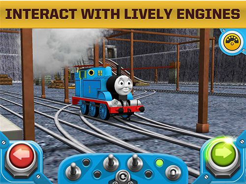 Screenshots of the Thomas and friends: Race on! game for iPhone, iPad or iPod.
