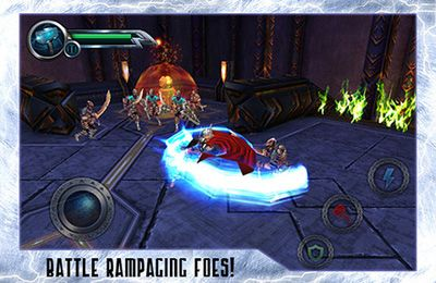 Écrans du jeu THOR: Son of Asgard pour iPhone, iPad ou iPod.
