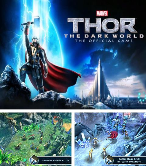 Además del juego UniGuerra  para iPhone, iPad o iPod, también puedes descargarte gratis Thor: The Dark World - The Official Game.