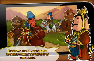 Screenshots of the Three Kingdoms TD – Legend of Shu game for iPhone, iPad or iPod.
