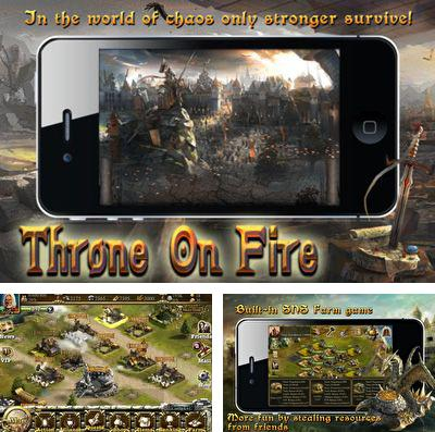 In addition to the game The myth seekers: The legacy of Vulcan for iPhone, iPad or iPod, you can also download Throne on Fire for free.