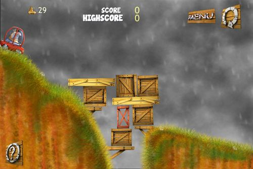 Kostenloser Download von Through the cliff für iPhone, iPad und iPod.
