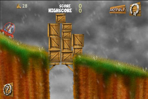 Screenshots vom Spiel Through the cliff für iPhone, iPad oder iPod.