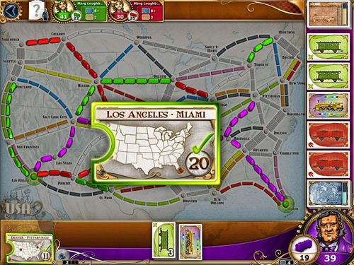Descarga gratuita de Ticket to ride para iPhone, iPad y iPod.