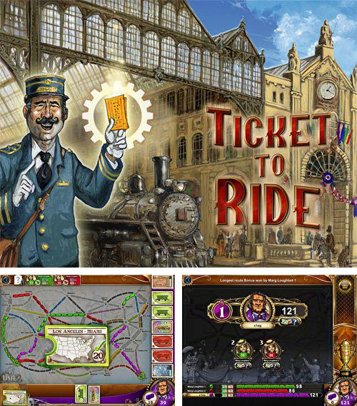 In addition to the game Second chance: Heroes for iPhone, iPad or iPod, you can also download Ticket to ride for free.