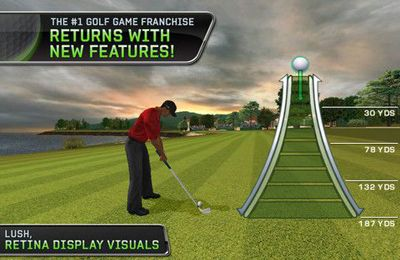 Descarga gratuita de Tiger Woods: PGA Tour 12 para iPhone, iPad y iPod.
