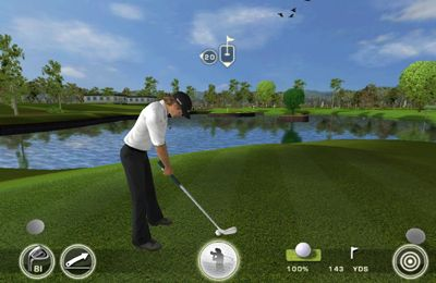 Screenshots do jogo Tiger Woods: PGA Tour 12 para iPhone, iPad ou iPod.