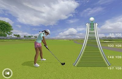 Capturas de pantalla del juego Tiger Woods: PGA Tour 12 para iPhone, iPad o iPod.