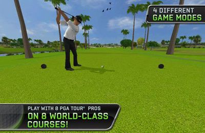 Геймплей Tiger Woods: PGA Tour 12 для Айпад.