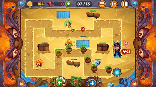 Игра Tiki defense для iPhone