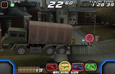 Écrans du jeu Time Crisis 2nd Strike pour iPhone, iPad ou iPod.