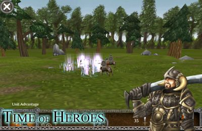 Descarga gratuita de Time of Heroes para iPhone, iPad y iPod.