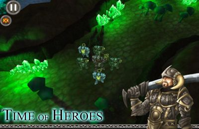 Capturas de pantalla del juego Time of Heroes para iPhone, iPad o iPod.