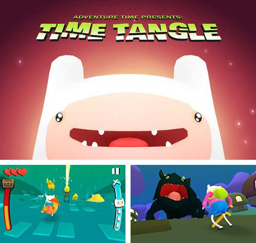 除了 iPhone、iPad 或 iPod 游戏,您还可以免费下载Time tangle: Adventure time, 。
