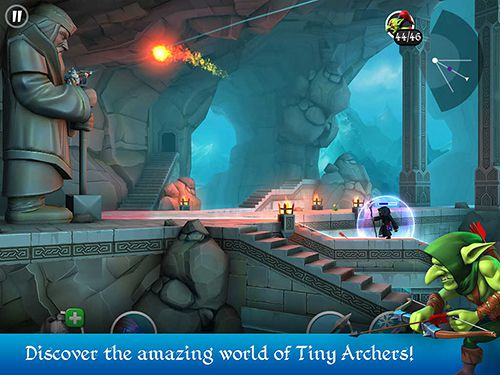 Download Tiny archers iPhone free game.