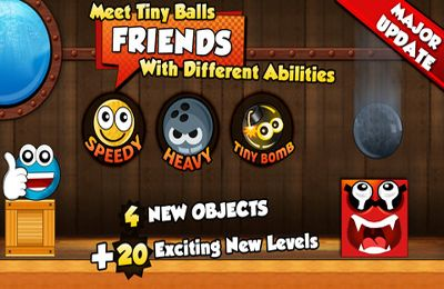 Download Tiny Ball vs. Evil Devil - Christmas Edition iPhone free game.