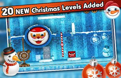 iPhone、iPad および iPod 用のTiny Ball vs. Evil Devil - Christmas Editionの無料ダウンロード。