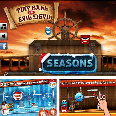 In addition to the game Dream Chaser for iPhone, iPad or iPod, you can also download Tiny Ball vs. Evil Devil - Christmas Edition for free.