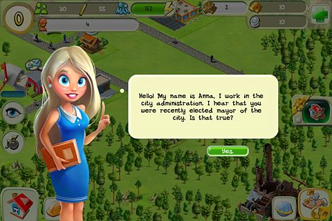 Download Tiny city iPhone free game.