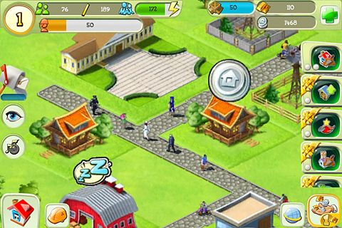 Free Tiny city download for iPhone, iPad and iPod.