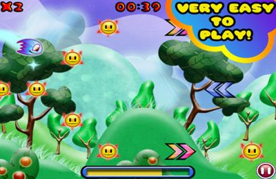 Screenshots of the Tiny Comet game for iPhone, iPad or iPod.