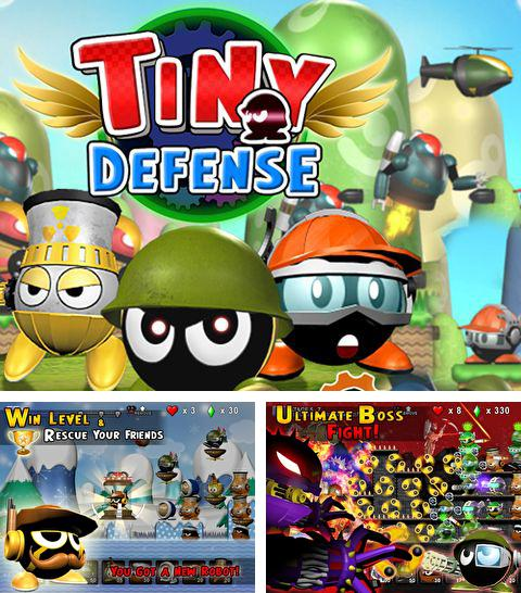 In addition to the game Flippy toy for iPhone, iPad or iPod, you can also download Tiny defense for free.