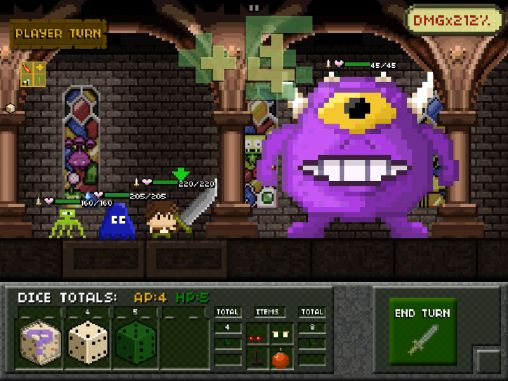 Descarga gratuita de Tiny dice dungeon para iPhone, iPad y iPod.