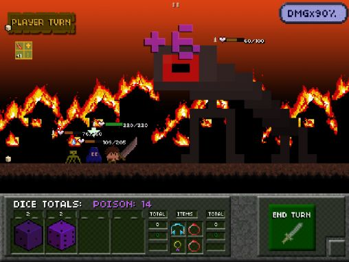Гра Tiny dice dungeon для iPhone