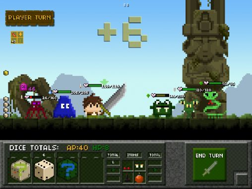 Capturas de pantalla del juego Tiny dice dungeon para iPhone, iPad o iPod.