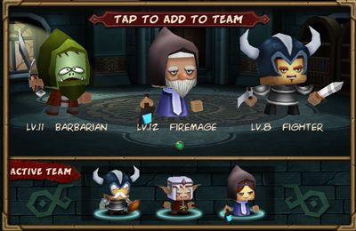 Screenshots of the Tiny Legends: Heroes game for iPhone, iPad or iPod.