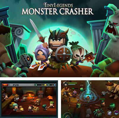 In addition to the game Plasma sky for iPhone, iPad or iPod, you can also download Tiny Legends: Monster crasher for free.