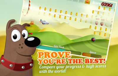 Screenshots of the Tiny Plane game for iPhone, iPad or iPod.