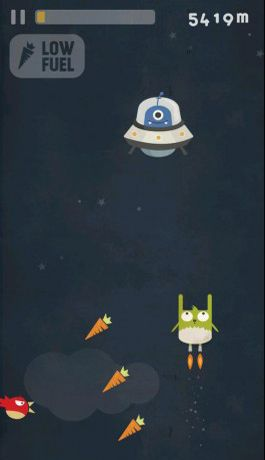 Descarga gratuita de Tiny Rabbit – Chasing Aurora para iPhone, iPad y iPod.