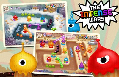Screenshots of the Tiny Ray game for iPhone, iPad or iPod.