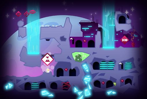 Capturas de pantalla del juego Tiny space adventure para iPhone, iPad o iPod.