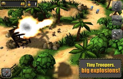 Download Tiny Troopers iPhone free game.