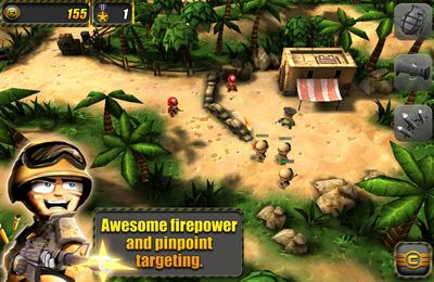 Capturas de pantalla del juego Tiny Troopers para iPhone, iPad o iPod.
