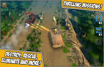 Écrans du jeu Tiny Troopers 2: Special Ops pour iPhone, iPad ou iPod.