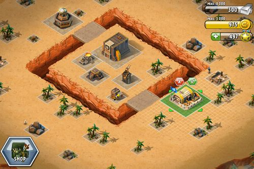 iPhone、iPad 或 iPod 版Tiny troopers: Alliance游戏截图。