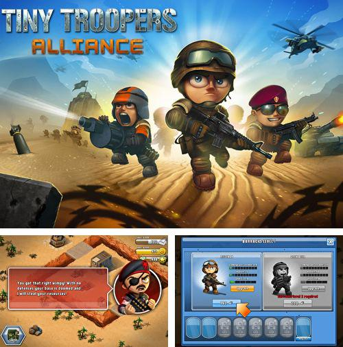 In addition to the game Total destruction: Derby racing for iPhone, iPad or iPod, you can also download Tiny troopers: Alliance for free.