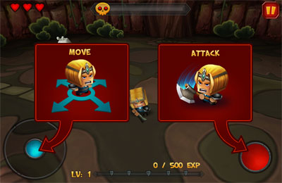 Download Tiny Legends: Crazy Knight iPhone free game.