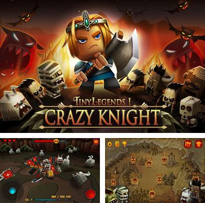 In addition to the game Hungry dragon for iPhone, iPad or iPod, you can also download Tiny Legends: Crazy Knight for free.