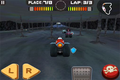 Capturas de pantalla del juego Tires of fury para iPhone, iPad o iPod.