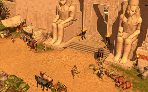 Screenshots of the Titan quest game for iPhone, iPad or iPod.